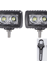 2x водить CREE свет бары сув 4wd квадроцикл 4 * 4 автомобили внедорожные с парой 1 дюйм монтажные кронштейны
