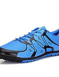 Femme-Décontracté-Noir Bleu Jaune Orange-Talon Plat-Confort-Chaussures d'Athlétisme-Polyuréthane