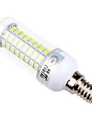 7,5 E14 / E26/E27 Lâmpadas Espiga T 72 SMD 5730 960 lm Branco Quente / Branco Natural Decorativa AC 220-240 V 1 pç