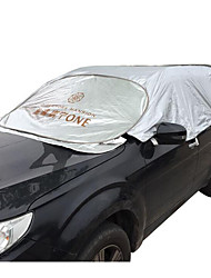 Steel Wire Half Cover Car Front Windshield Half Car Clothing