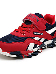 Boy's Sneakers Spring / Fall Comfort PU Casual Flat Heel  Blue / Red / Royal Blue / Fuchsia Walking