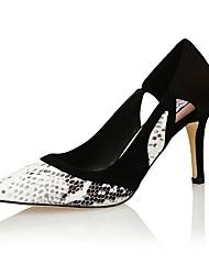 Women's Shoes Other Animal Skin / Fleece Heels / Styles / Pointed Toe Heels Wedding / Party & Evening / Dress