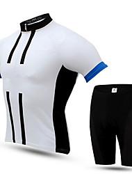 Спорт Велокофты и велошорты Муж. Короткие рукава ВелоспортДышащий / Защита от пыли / Защита от излучения / Пригодно для носки / Защита от