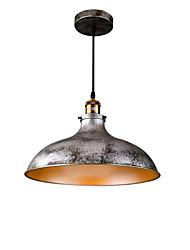 Max 60W Lampe suspendue ,  Traditionnel/Classique Rustique Retro Rétro Peintures Fonctionnalité for Style mini MétalSalle de séjour