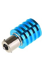 10PCS  DC 12V  Ba15s 1156 1157 7W 1Cree White With Lens Car LED Reverse Lamp  Turn Signal、Stop、Parking Lights Bulb Lamp