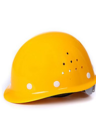 White Yellow Red Blue Glass And Steel Building Materials Site Breathable Anti-Smashing High Temperature Impact Helmets