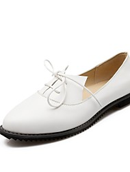 Women's Loafers & Slip-Ons Summer /Comfort / Pointed Toe Rubber Office & Career/Casual Flat Heel Gore Blue/ White Others