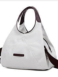 Women Shoulder Bag Tote Canvas Casual Outdoor Beige Gray Brown Blue