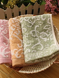 Random Flower Jacquard Thickening Untwisted Yarn Children Towels