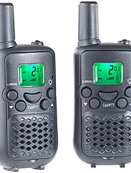 T899C Walkie Talkie 0.5W 8 Channels 400-470MHz AAA alkaline battery 3 km -5kmVOX / Verschlüsselung / LCD-Display / ?berwachung / Scannen