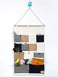 Thirteen Pockets Behind The Door Navy style Storage Bag