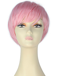 Cosplay Wigs Fairytale Movie Cosplay Pink Solid Wig Halloween Christmas New Year Female