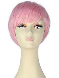 Autre Perruques de cosplay Rose Film Costumes de cosplay Solide Perruque N/C Féminin