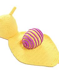 Fashion Baby Acrylic Casual/Daily Snail Style Hoodie Sleepwear Patchwork All Seasons