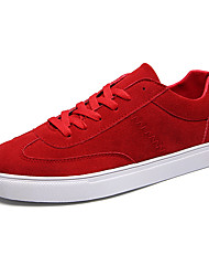 Men's Shoes Athletic Fabric Fashion Sneakers Black / Blue / Red