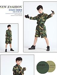 детский летний лагерь для мужчин и женщин большой девственный костюм зеленого цвета армии равномерное одежды производительности