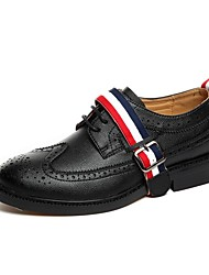 Men's Oxfords/Fashion Dress/Wedding Shoes/Leather/Baroque/Bullock/Delicate Sewing/Personality