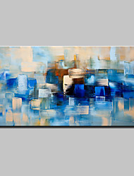 Hand Painted Modern Abstract Oil Painting On Canvas Wall Art Pictures With Stretched Frame Ready To Hang