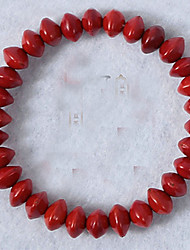 Strand Bracelets 1pc,Red Bracelet Fashionable Circle 514 Agate Jewellery Christmas Gifts