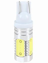 7.5w dc12v белый t10 cob 5led автомобиль высокой мощности авто водить сторона маркер свет номерного знака свет лампа 1pcs