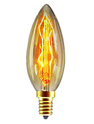 C35 40W E14 Incandescent Bulb Retro Edison Light Bulb(AC220-240V)