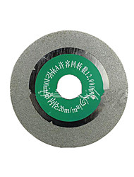 Jade Glass Cutting Emery Blades(Specification:100*20*1.2mm、Two From the Sale)