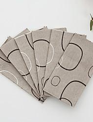 100% pulpe vierge Serviettes de mariage-50 Piece / Set Serviette de boisson / Serviette de déjeuner / Serviette de dîner