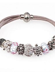 Women Crystal Black Tortoise Strand Bracelets