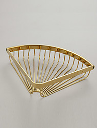 Prateleira de Banheiro / Dourada / De Parede /29.5*8*5cm /Latão /Contemporâneo /29.5cm 8cm 0.54