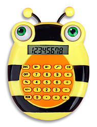 (Random color)Big Eyes Ultra-Thin Student Calculator Cartoon Animals