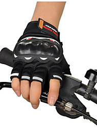 Motorcycle Racing Gloves Semi Finger Cross Country Summer Riding Motorcycle Semi Finger Rider Gloves