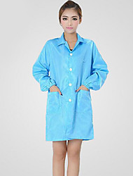capa antiestática guardapolvos limpios venta directa de fábrica de ropa antiestáticos (xl venta, azul)