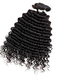 Tejidos Humanos Cabello Cabello Peruano Ondulado Medio 3 Piezas los tejidos de pelo