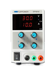 Regulated DC Power Supply  STP3010 30V  10A  (110/220VAC Switchable) LED Display