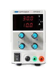 regulamentado dc fonte de alimentação stp3010 30v 10a (110 / 220VAC comutável) levou a exposição