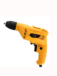 Miniature Pistol Drill Multifunction Household / Industrial-Grade Wood Decoration Flashlight Screwdriver Bit (220V)