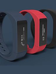 Unissex Relógio Esportivo / Smartwatch / Bracele Relógio DigitalLED / Controle Remoto / Cronógrafo / alarme / Monitor de Batimento