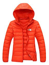 The North Face Women's Down Jacket Waterproof Windproof Outdoor Sports Trekking Camping Hiking Full Zipper Jackets
