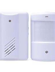 détecteur de corps infrarouge sonnette divisée est une induction de bienvenue sonnette capteur infrarouge sonnette sans fil