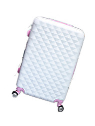 Unisexe Métallique Extérieur Bagages Blanc / Rose / Bleu / Noir / Fuchsia