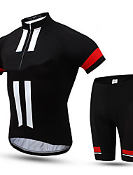 Sports Cycling Jersey with Shorts Men's Short Sleeve Bike Breathable / Anti-Eradiation / Compression / Comfortable / SunscreenClothing