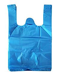 cor azul outro material de embalagem&saco de plástico transporte três pacotes
