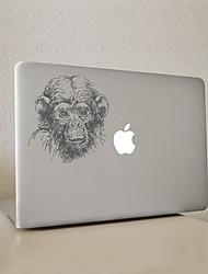 Monkey Decorative Skin Sticker for MacBook Air/Pro/Pro with Retina
