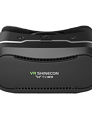 shinecon vr 2 óculos 3D vr plástico google óculos hd papelão para 3,5-6,0 polegadas telefone + controle remoto