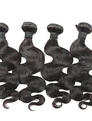 Brazilian Virgin Hair Body Wave 4 Bundles eunice Hair Brazilian Body Wave 6A Grade Unprocessed human hair weave
