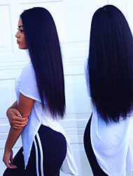 cabelo humano de venda quente upart rendas frente perucas cor 1b excêntricas rendas frente perucas perucas retas para as mulheres negras