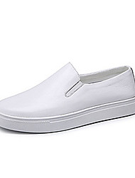 JuQi 8327 Casual Shoes Men's Breathable Low-Top Leisure Sports White / Black Backcountry Slip-on
