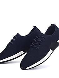 Men's Sneakers Spring / Summer / Fall / Winter Comfort Tulle Outdoor / Casual Black / Blue Tennis / Walking / Sneaker