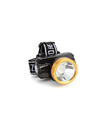 Lights Headlamps LED 200 Lumens 2 Mode LED Lithium Battery Rechargeable Camping/Hiking/Caving / Everyday Use / Hunting Plastic