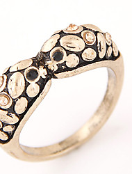 Women European Style Retro Vintage Fashion Simple Owl Band Ring